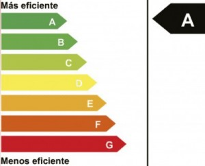 Etiqueta de calificacion energética