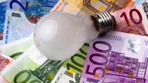 lampara y euros