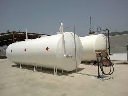 Almacenamiento de combustible en superficie