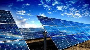 Placas de paneles solares